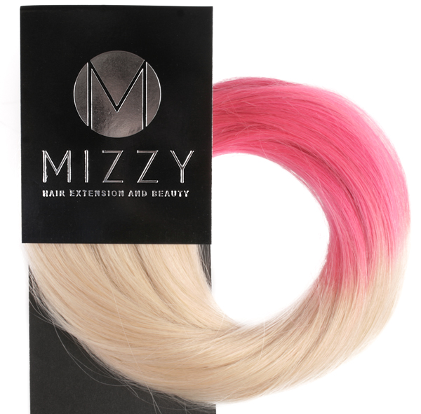 60tlightpink_mizzy_classic_single_drawn_clipon_dip_dye_blond_ljusrosa_2_webben