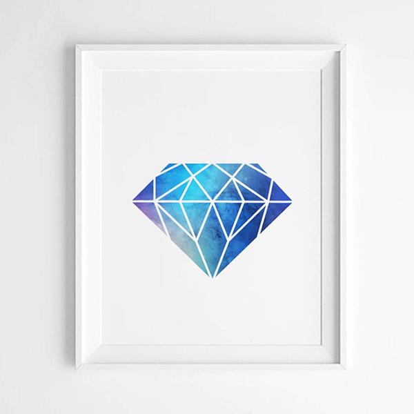 diamant_abstrakt_bla_lila_idiwa_poster_canvas-1