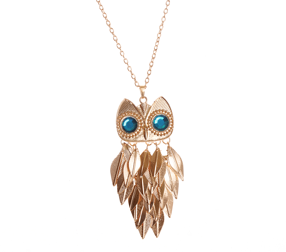 halsband_necklace_uggla_guld_turkosogon_idiwa_smycken_1_webben